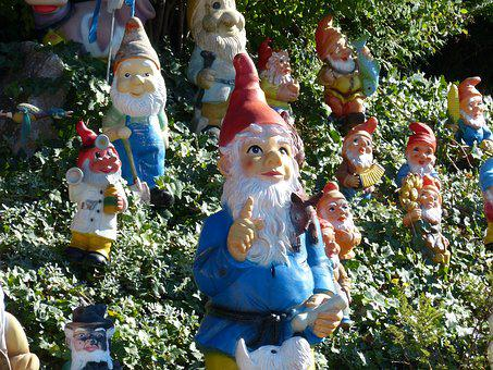 Garden Gnomes, Forest, Fairy Tales, Funny, Gnome