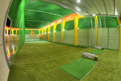 Golf, Practice, Net, The Rooftop, Gimhae, Faction