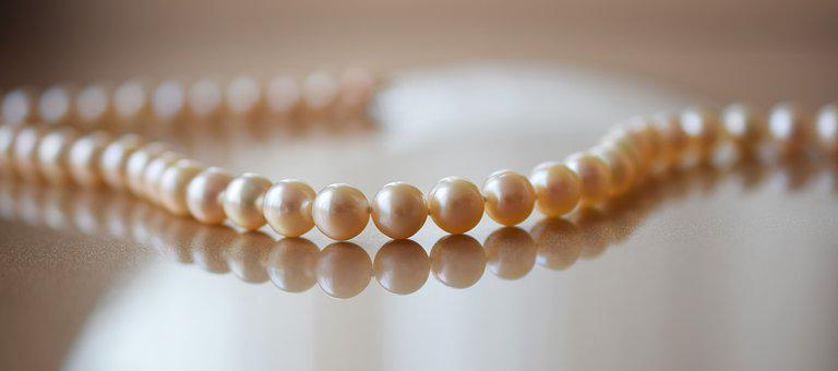 Pearls, Jewelry, Tenderness, Necklace