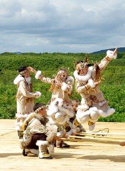 Kamchatka, Peninsula, Holiday, Dancing, Journey, Summer