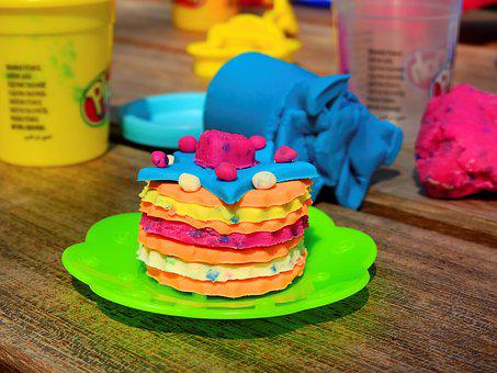 Children, Play, Fun, Toys, Play Dough, Playdoh, Leisure