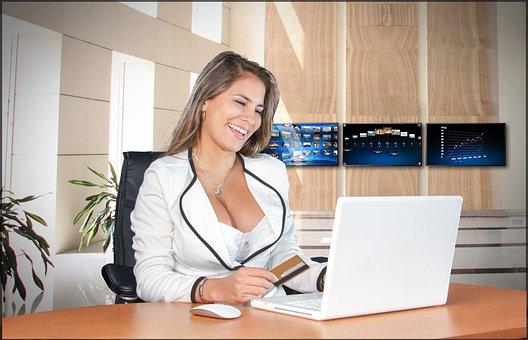 Business Women, Pretty, Female, Woman, Femininity