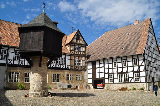 Quedlinburg, Truss, World Heritage