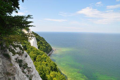Rügen, Baltic Sea, Lime Rock
