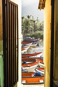 Boats, Beach, Sea, Boat, Holiday, Canoe, Landscape