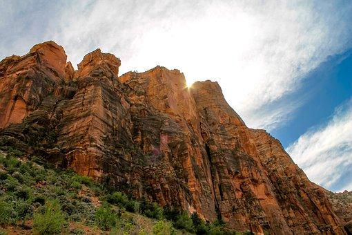 Zion, Mountains, Utah, Park, Nature, National