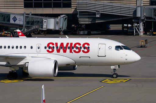 Swiss, Aircraft, Airbus, A320, Airport Zurich, Airport