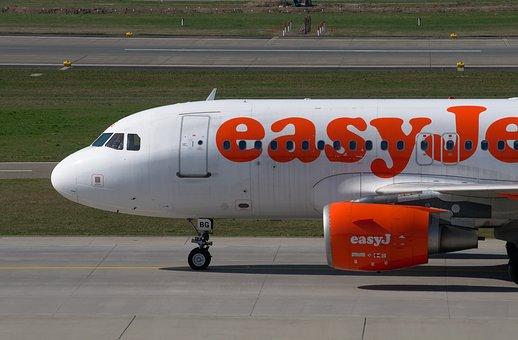 Easyjet, Aircraft, Airbus, A319, Airport Zurich