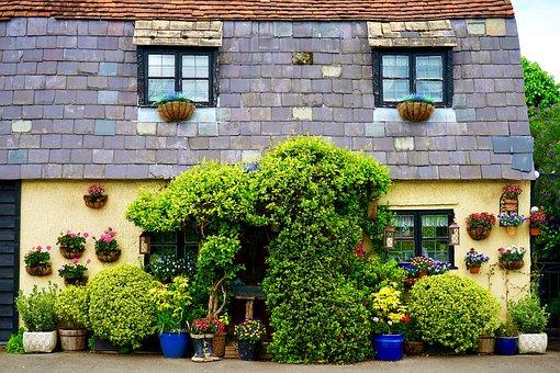Cottage, Village, House, Home, Building, Architecture