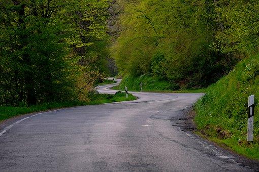 Road, Curve, Route, Curves, Landscape, Asphalt, Drive