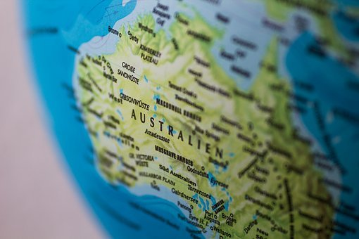 Travel, Australia, Planet, Wanderlust, Sea, Globe