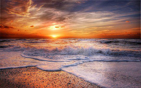 Denmark, Sea, Beach, North Sea, Coast, Landscape, Water