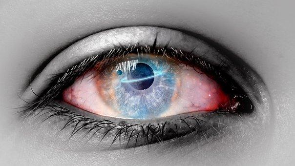 Eye, Manipulation, Galaxy, Creative, Artificial
