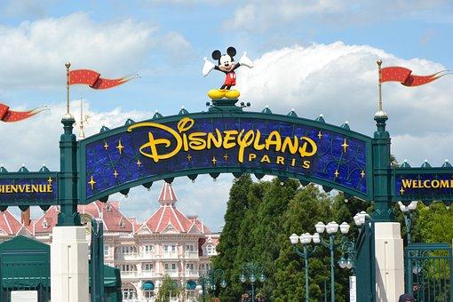 Disneyland Paris, Disneyland, Paris, France, Disney