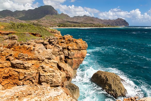 Cliffs, Ocean, Landscape, Scenery, Shore, Coast, Island