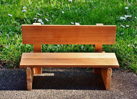 Bank, Wood, Seat, Green, Nature, Rest, Out, Park, Bench