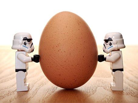 Stormtrooper, Egg, Lego, Storm, Trooper, Balance