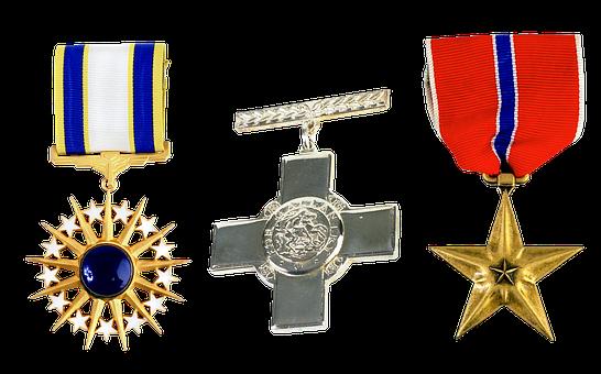 Medal, Order, Honors, Cross, Star, Rays, Military, Debt