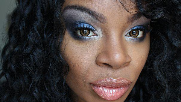 Makeup, Lips, Eyes, Glamour, Girl, Fashion, Make-up