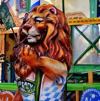 Oktoberfest, Lion, Gastronomy, Fig, Hustle And Bustle