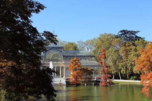 Crystal Palace, Removal, Parque Del Retiro, Pond