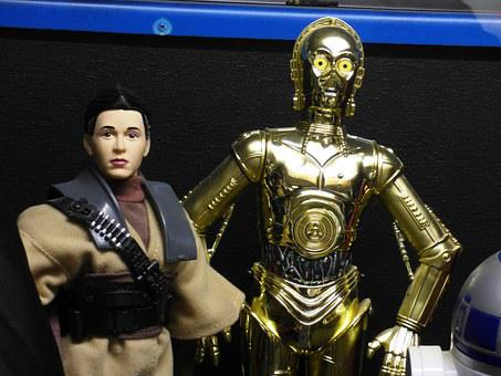 C3po, Star Wars, Robot, Video, Toy, The Figurine