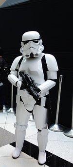 Storm Trooper, Star Wars, Sci Fi, Statue, Costume