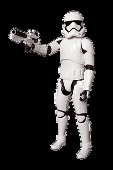 Star Wars, Storm Trooper, Figures, Toys, Plastic