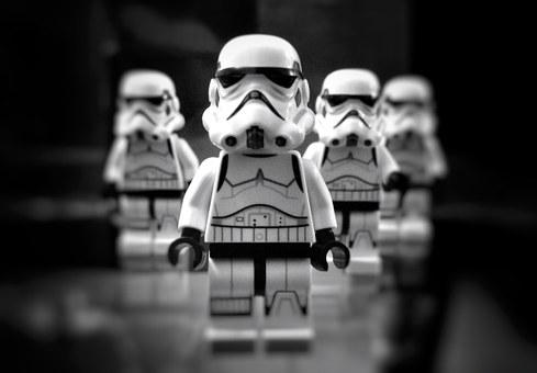 Star Wars, Toys, Dolls, Game, Stormtroopers