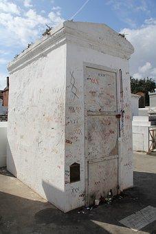 Tomb, New Orleans, Nola, Marie Laveau, Cemetery