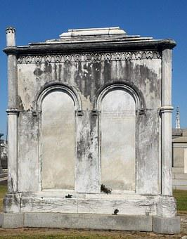 Crypt, Cemetery, Tombstone, New Orleans, Louisiana