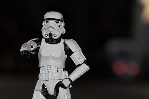 Star Wars, Imperial Stormtrooper, Toy Figure