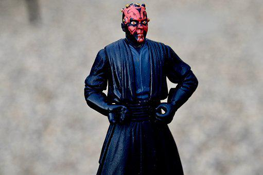 Star Wars, Darth Maul, Villain, Action Figure, Toy