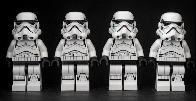 Stormtrooper, Star Wars, Lego, Storm, Trooper, Parade