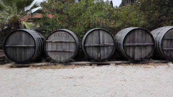 Barrels, Wine, Grape, Wood, Alcohol, Drink, Wine Barrel