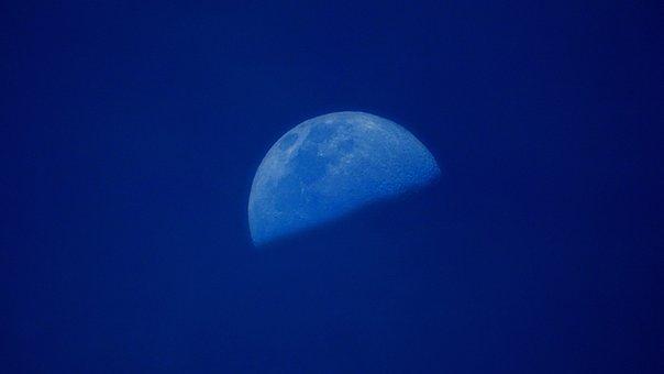 Moon, Astro, Natural Satellite, Sky, Night Sky, Space