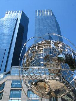 Trump Towers, Globe, Earth, Corporations, New York