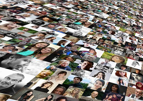 Photo Montage, Faces, Photo Album, World, Population