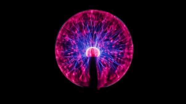 Plasma, Globe, Long, Exposure, Energy, Light, Science