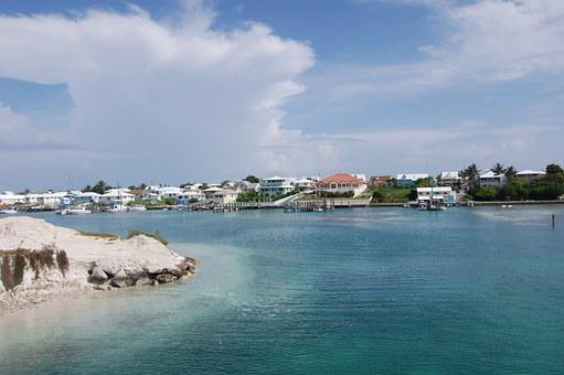 Spanish Wells, Bahamas, Island, Ocean, Eleuthera, Sky