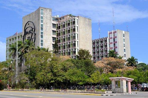 Havana, Cuba, Revolution Square, Che Guevara, Building