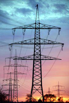 Current, Reinforce, Power Line, Electricity, Energy