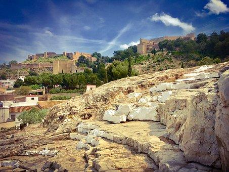 Sagunto, Castellón, Spain, Castle, Landscape, Tourism