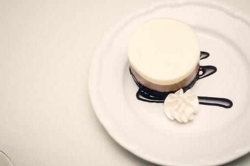 Cake, Food, Dessert, Sweet, White, Delicious, Pastry
