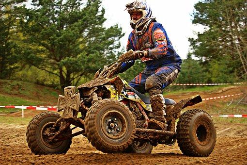 Motocross, Quad, Atv, All-terrain Vehicle, Enduro