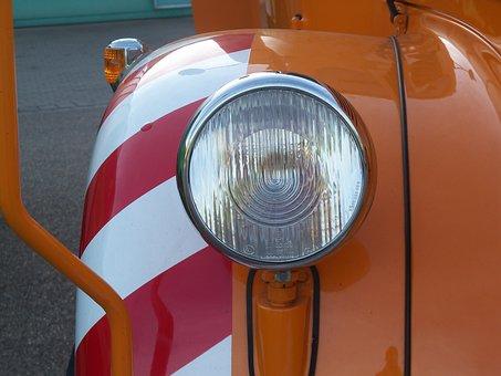 Oldtimer, Auto, Mercedes, Truck