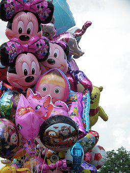 Balloons, Balloon, Fair, Birthday, Festival, Fun