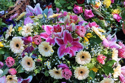 Flowers, Bouquet Of Flowers, Floral Arrangement