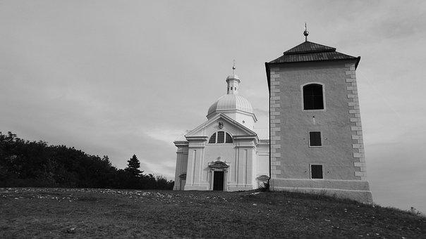Chapel, The Chapel Of St, Sebastian, Belfry, Mikulov