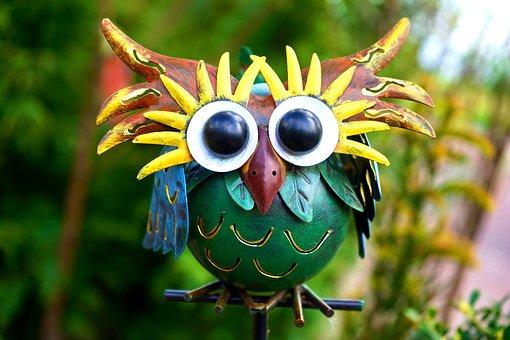 Art, Metal, Metallic, Decorative, Owl, Decoration